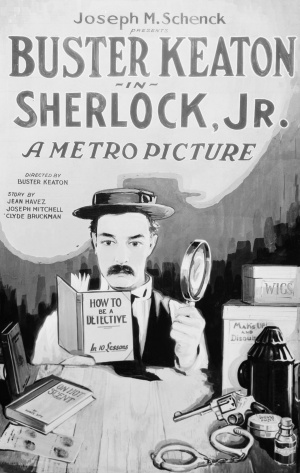 Cartaz Sherlock Jr.