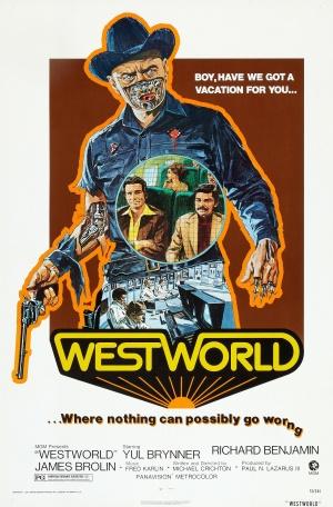 Cartaz Westworld - Onde Ninguém tem Alma
