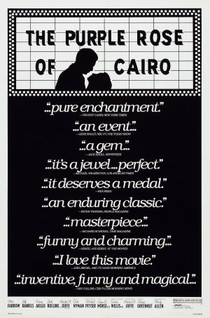 Cartaz A Rosa Púrpura do Cairo