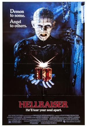 Cartaz Hellraiser - Resnascido do Inferno