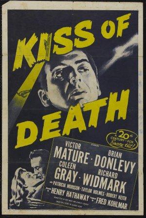 Cartaz O Beijo da Morte