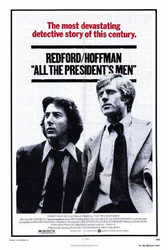 Cartaz Todos os Homens do Presidente