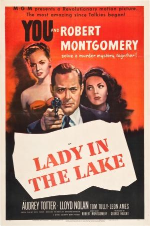 Cartaz A Dama do Lago