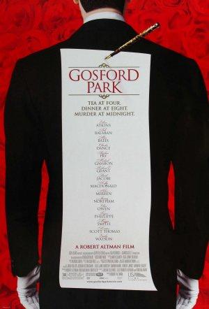 Cartaz Assassinato em Gosford Park