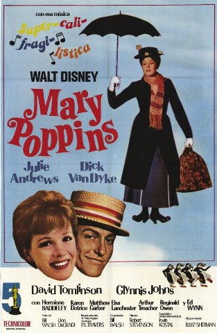 Cartaz Mary Poppins