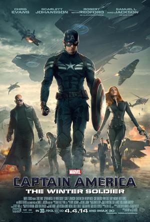 Cartaz Capitão América 2 - O Soldado Invernal