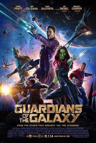 Cartaz Guardiões da Galáxia