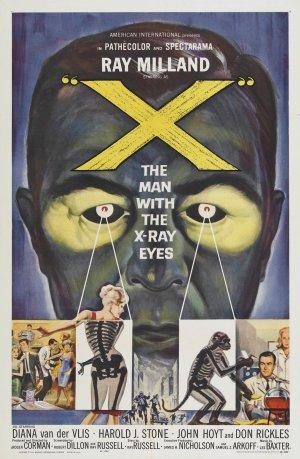 Cartaz O Homem dos Olhos de Raio X