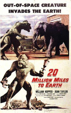 Cartaz A 20 Milhões de Milhas da Terra