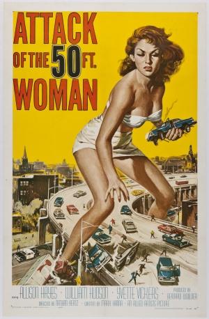 Cartaz A Mulher de 15 Metros