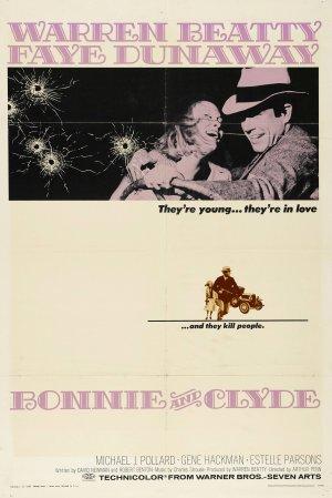 Cartaz Bonnie e Clyde - Uma Rajada de Balas