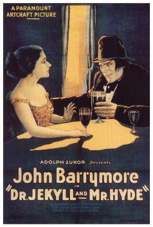 Cartaz O Médico e o Monstro 1920