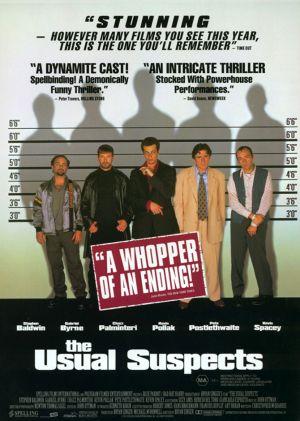 Cartaz Os Suspeitos