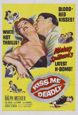 Cartaz A Morte num Beijo