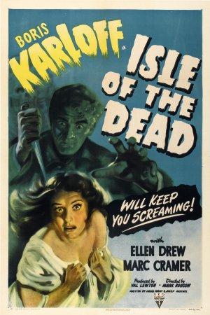 Cartaz A Ilha dos Mortos
