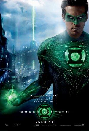 Cartaz Lanterna Verde