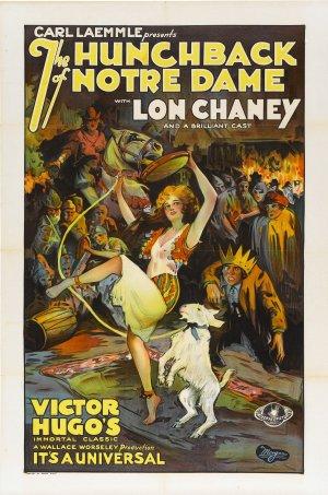 Cartaz O Corcunda de Notre Dame (1923)