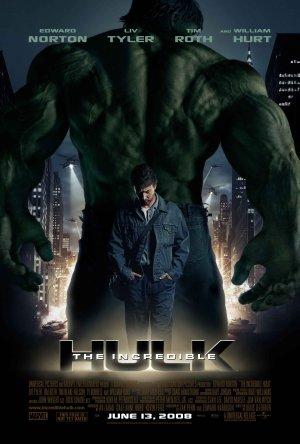 Cartaz O Incrível Hulk (2008)