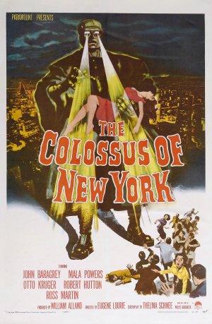 Cartaz O Monstro de Nova York