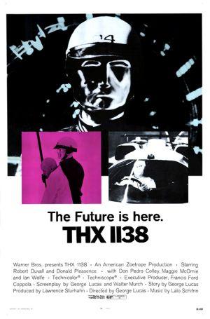 Cartaz THX 1138