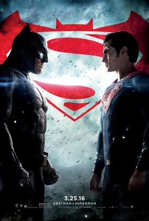 Cartaz Batman Vs Superman