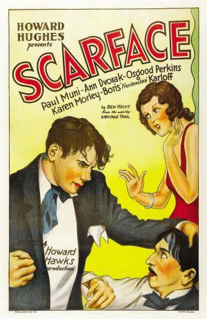 Cartaz Scarface, a Vergonha de uma Nação