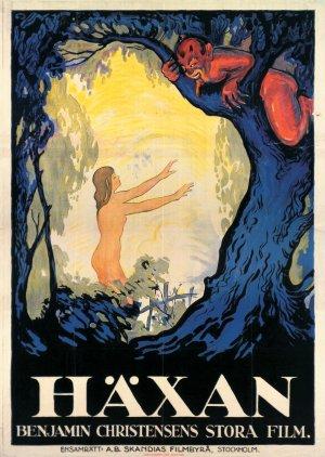 Cartaz Häxan - A Feitiçaria através dos Tempos