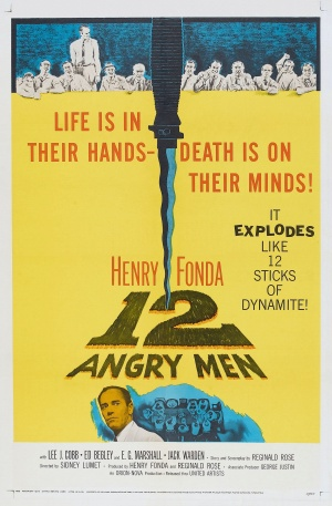 Cartaz 12 Homens e Uma Sentença