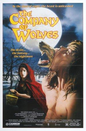 Cartaz A Companhia dos Lobos