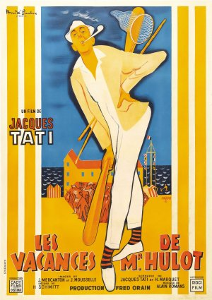 Cartaz As Férias do Sr. Hulot