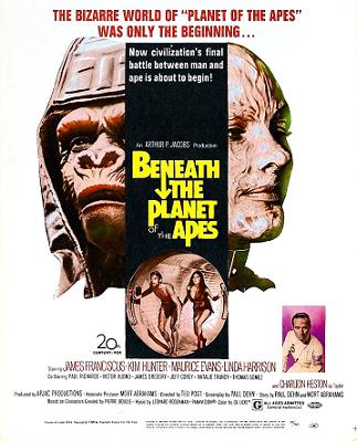 Cartaz De Volta ao Planeta dos Macacos