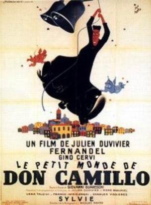 Cartaz O Pequeno Mundo de Don Camillo