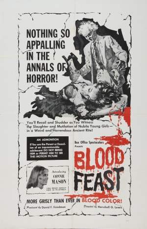 Cartaz Banquete de Sangue