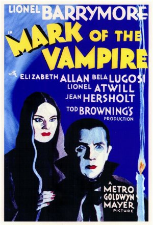 Cartaz A Marca do Vampiro