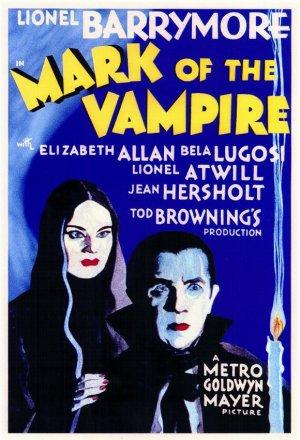 Cartaz A Marca do Vampiro