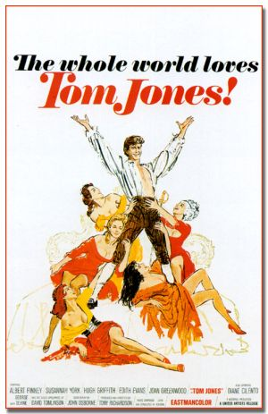 Cartaz As Aventuras de Tom Jones