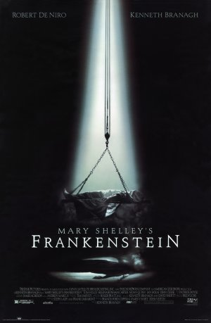 Cartaz Frankenstein de Mary Shelley