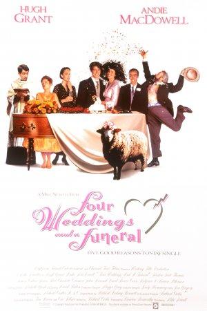 Cartaz Quatro Casamentos e Um Funeral