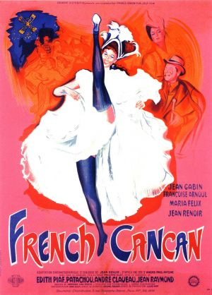 Cartaz French Cancan