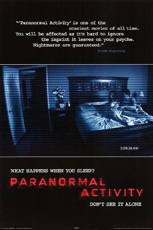 Cartaz Atividade Paranormal