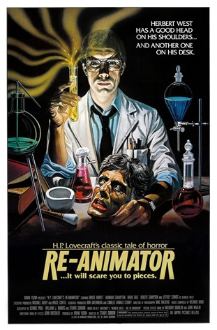 Cartaz Re-Animator - A Hora dos Mortos Vivos 1