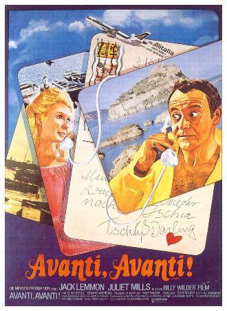 Cartaz Avanti Amantes à Italiana