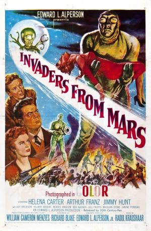 Cartaz Invasores de Marte