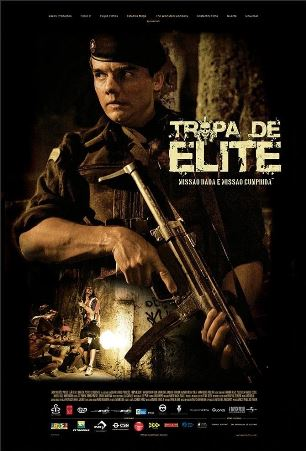 Cartaz Tropa de Elite