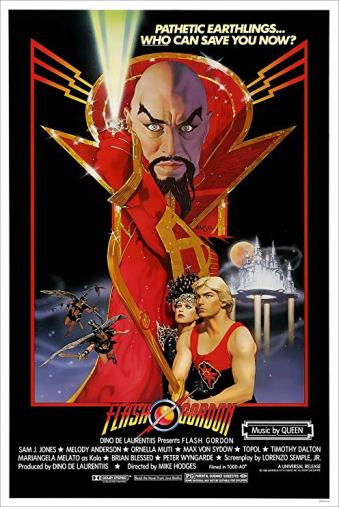 Cartaz Flash Gordon 1980