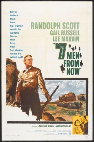 Cartaz Sete Homens e Um Destino