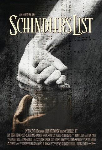 Cartaz A Lista de Schindler