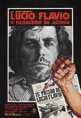 Cartaz Lúcio Flávio, o Passageiro da Agonia