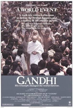 Cartaz Gandhi