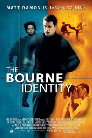 Cartaz A Identidade Bourne